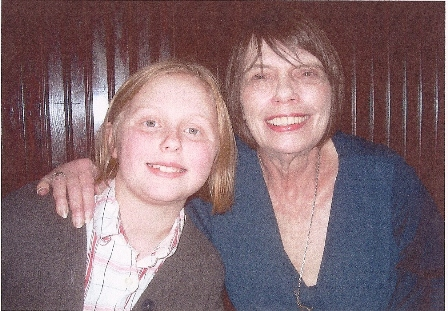 Mary with her granddaughter Maisy