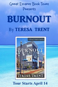 BURNOUT SMALL BANNER