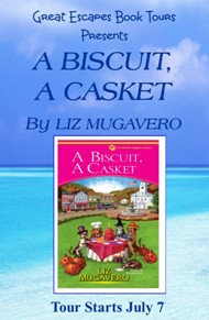 A BISCUIT A CASKET SMALL BANNER
