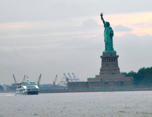 Statue of Liberty Photo by Cleo Coyle