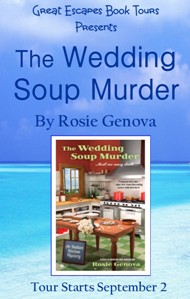 WEDDING SOUP MURDER SMALL BANNER