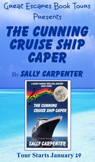 CUNNING CRUISE SHIP CAPER SMALL BANNER