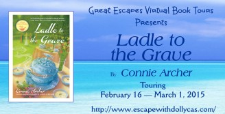 great escape tour banner large ladel to the grave 328