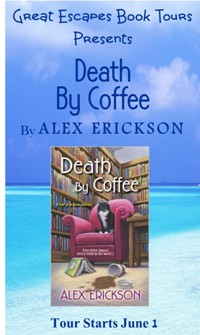 DEATH BY COFFEE  SMALL BANNER