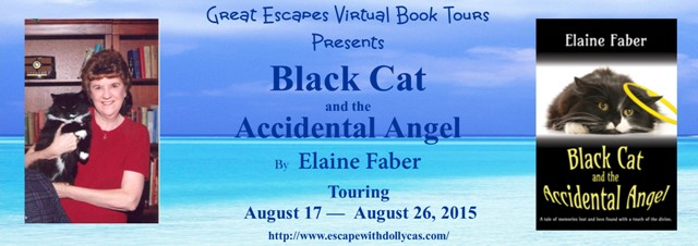 black cat accidental angel large banner6402