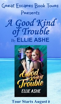 A GOOD KIND OF TROUBLE SMALL BANNER