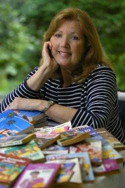 090606-wilmington, de--12ll.local book--Mary Kennedy is the author of 37 books. She writes teen novels. The News Journal/Carla Varisco