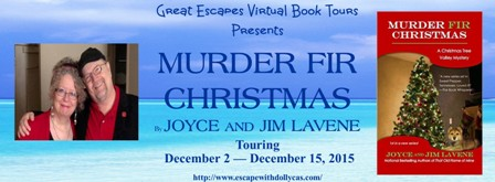 murder fir christmas large banner448
