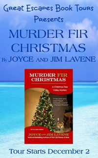murder fir christmas  small banner