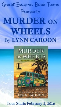MURDER ON WHEELS small banner
