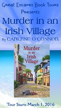 MURDER IN AN IRISH VILLAGE  small banner