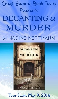 DECANTING A MURDER small banner