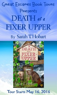 DEATH OF A FIXER UPPER small banner