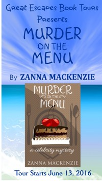 MURDER ON THE MENU small banner