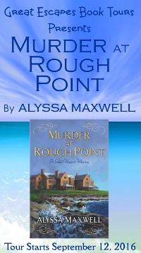 MURDER AT ROUGH POINT SMALL BANNER