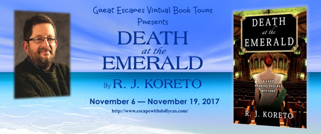 Spotlight Giveaway Death At The Emerald A Lady Frances Ffolkes