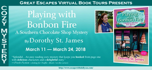 Blog Tour & Giveaway: Playing with Bonbon Fire by Dorothy St. James