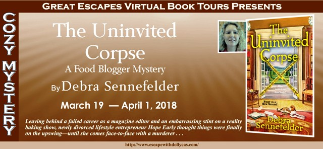 Blog Tour & Review: The Uninvited Corpse by Debra Sennefelder