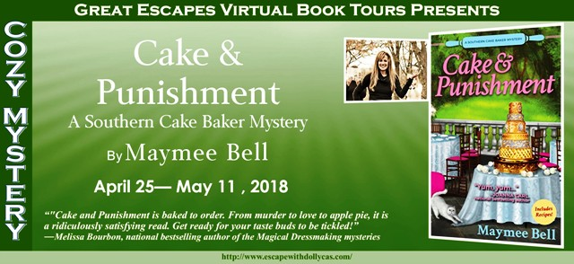 Blog Tour & Review: Cake and Punishment by Maymee Bell