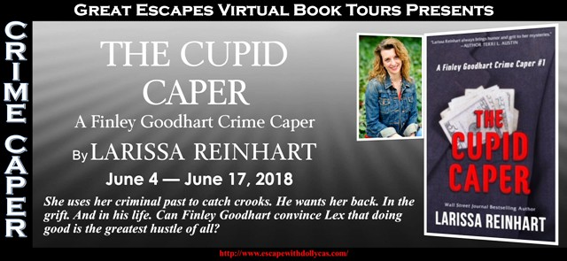 The Cupid Caper by Larissa Reinhart – Spotlight and Giveaway