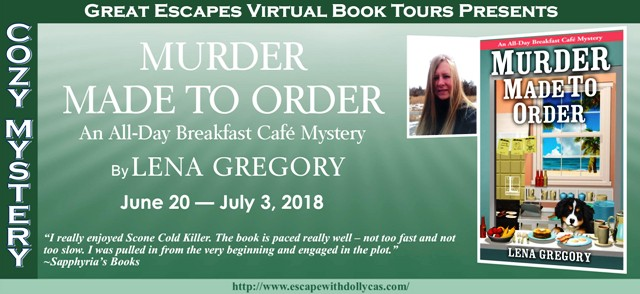 Murder Made to Order by Lena Gregory – Spotlight and Giveaway