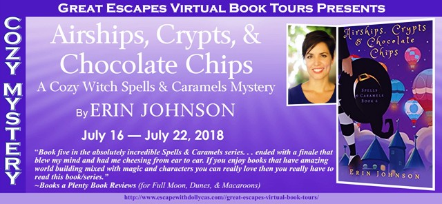 Airships, Crypts & Chocolate Chips by Erin Johnson – Spotlight