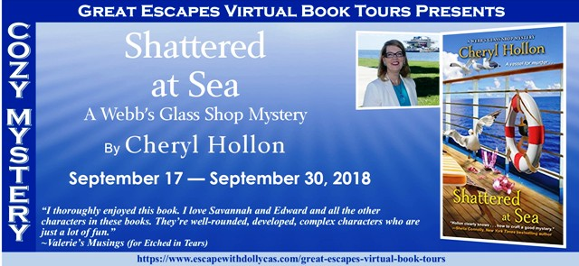 Spotlight Giveaway Shattered At Sea A Webbs Glass Shop