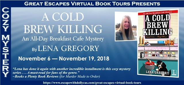 Blog Tour & Giveaway: A Cold Brew Killing by Lena Gregory