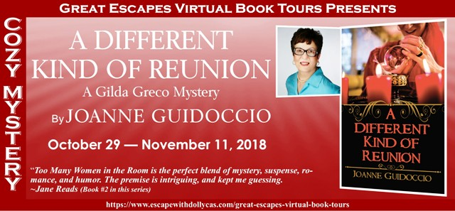 Blog Tour & Giveaway: A Different Kind of Reunion by Joanne Guidoccio