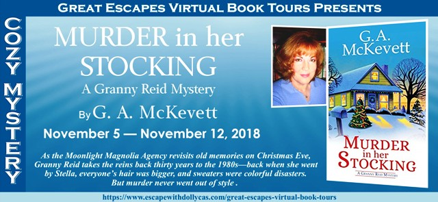 Blog Tour & Giveaway: Murder in her Stocking by G. A. McKevett