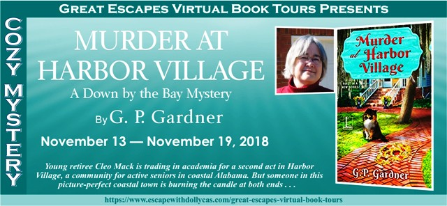 Blog Tour & Giveaway: Murder at Harbor Village by G.P. Gardner