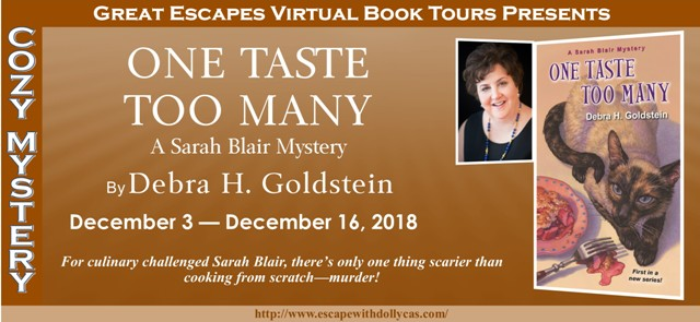 Blog Tour & Review: One Taste Too Many by Debra Goldstein