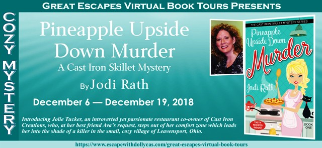 Blog Tour & Review: Pineapple Upside Down Murder by Jodi Rath
