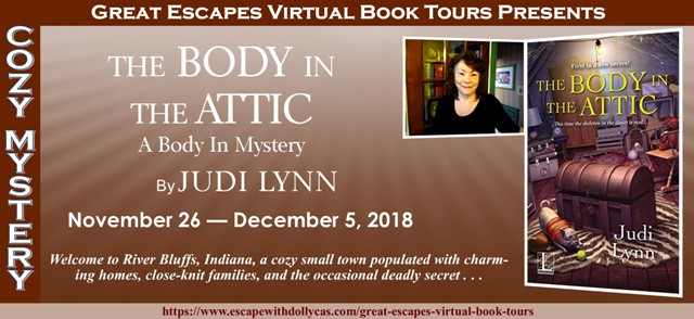 Blog Tour & Giveaway: The Body in the Attic by Judi Lynn