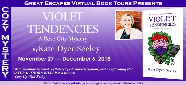 Blog Tour & Giveaway: Violet Tendencies by Kate Dyer-Seeley