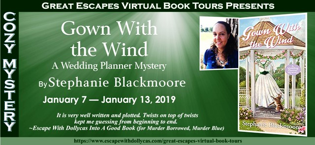 Guest Post and Blog Tour Gown with the Wind by Stephanie