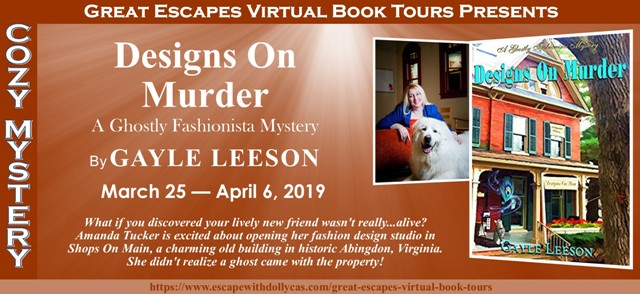 Blog Tour & Giveaway: Designs on Murder by Gayle Leeson