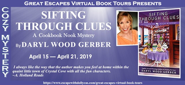 Blog Tour & Giveaway: Sifting Through Clues by Daryl Wood Gerber