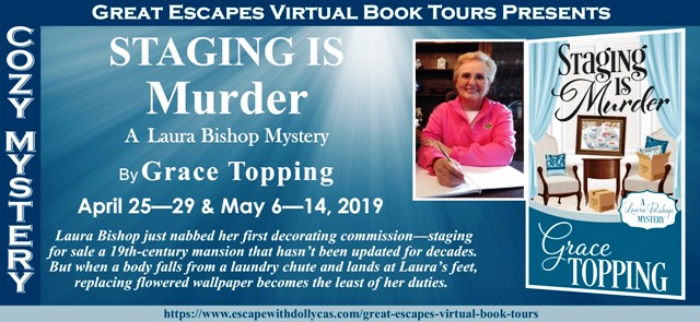 Blog Tour & Giveaway: Staging is Murder by Grace Topping