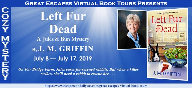 Blog Tour & Giveaway: Left Fur Dead by J. M. Griffin
