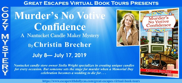 Blog Tour & Giveaway: Murder's No Votive Confidence by Christin Brecher
