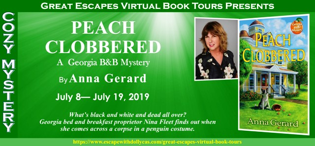 Blog Tour & Giveaway: Peach Clobbered by Anna Gerard