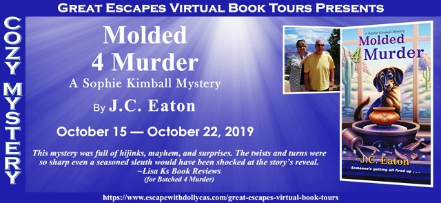 Molded 4 Murder blog tour ~Guest Post