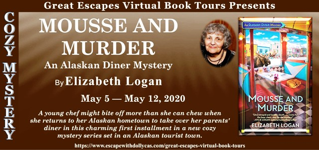 Blog Tour & Review: Mousse and Murder by Elizabeth Logan