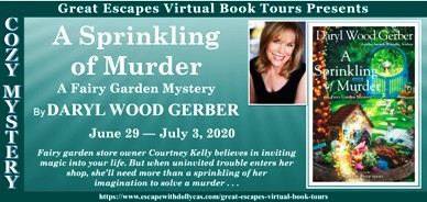 A SPRINKLE OF MURDER BANNER 184