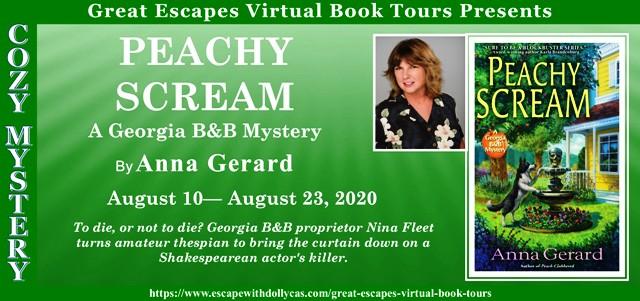 Blog Tour & Giveaway: Peachy Scream by Anna Gerard