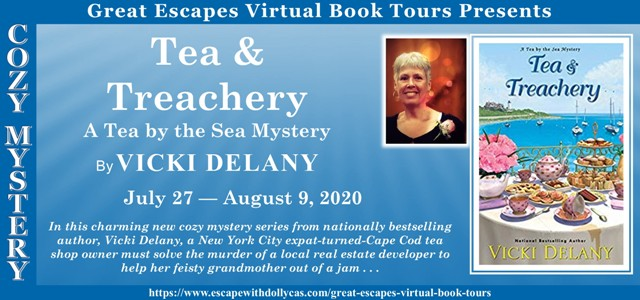 Blog Tour & Giveaway: Tea & Treachery by Vicki Delany