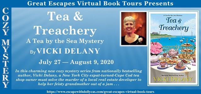 Blog Tour & Giveaway: Tea & Treachery by Vicki Delany