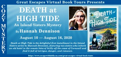 DEATH AT HIGH TIDE BANNER 184