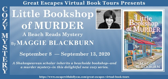 Blog Tour & Giveaway: Little Bookshop of Murder by Maggie Blackburn